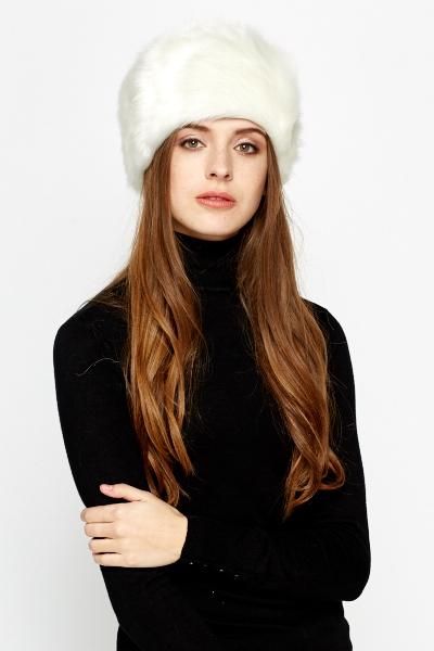 Winter Pill Box Faux Fur Hat - Just £5 0521db0e12f