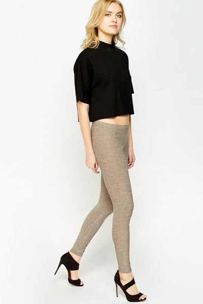 Metallic Fashion Leggings