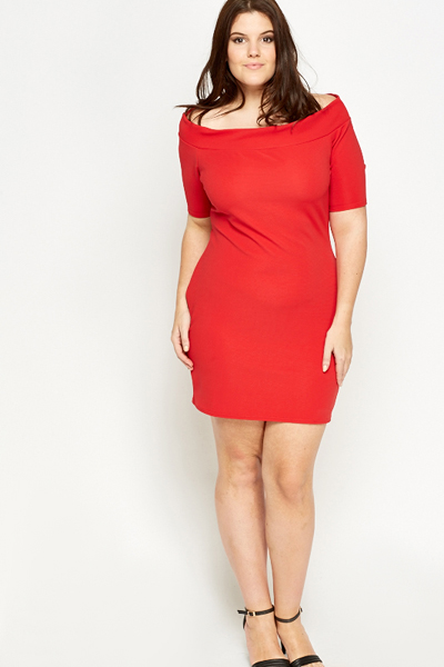 Bardot Bodycon Dress