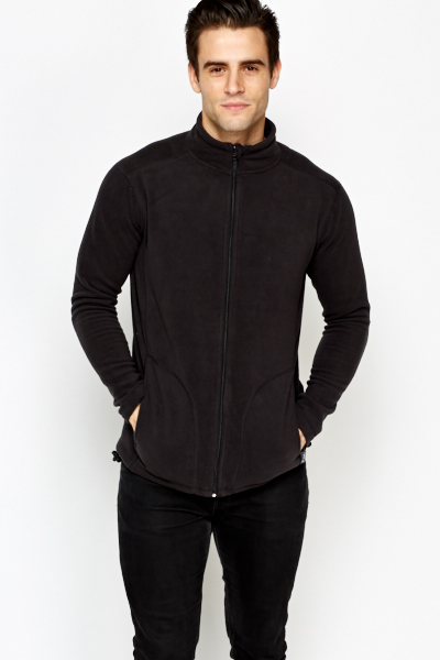High Neck Fleece Jacket