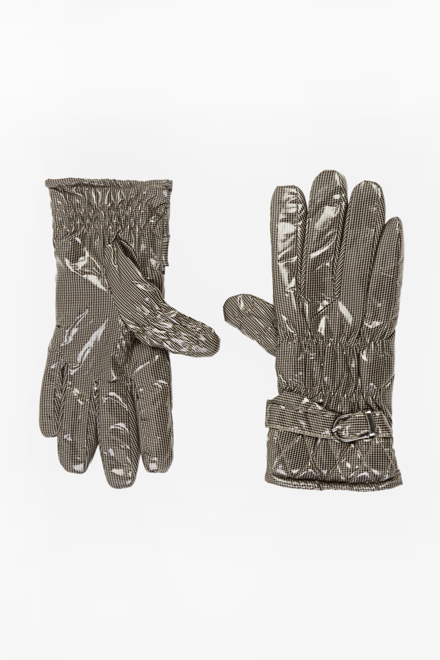 PU Printed Gloves