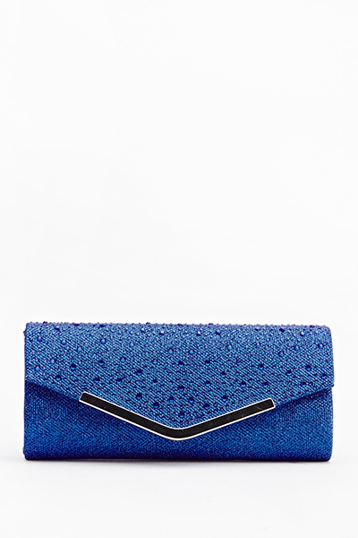 Lurex Encrusted Clutch