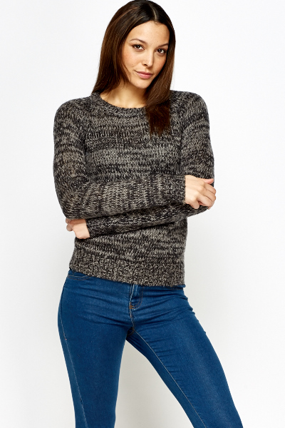 Speckled Casual Jumper