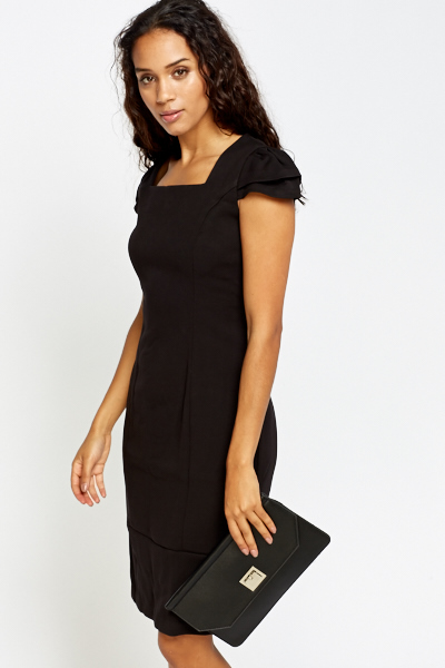 Cap Sleeve Pencil Dress