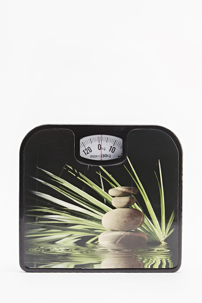 Stone Print Mechanical Weighing Scales