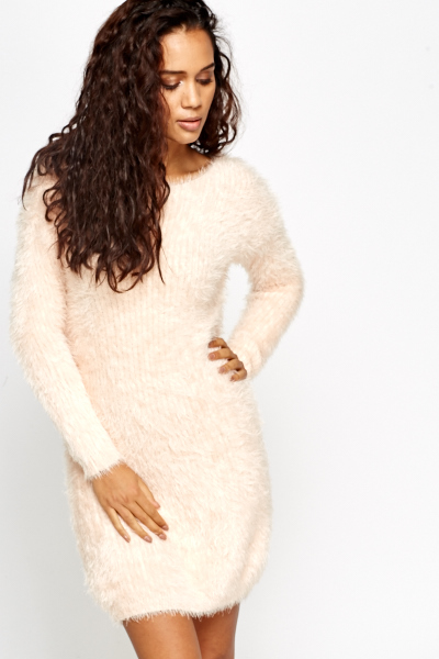 EyeLash Jumper Bodycon Dress