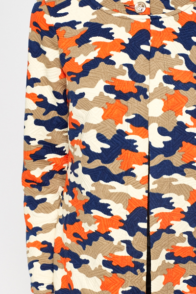 Camouflage Contrast Jacket