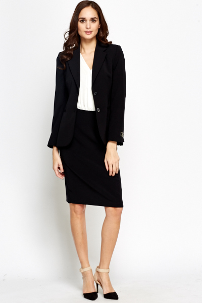 Long Formal Blazer