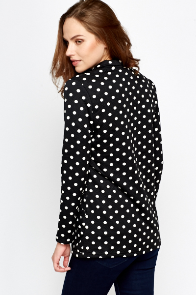Black Polka Dot Jacket