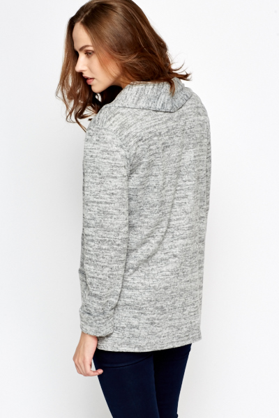 Speckled Soft Cardigan
