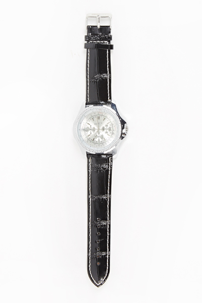 Encrusted Face Watch