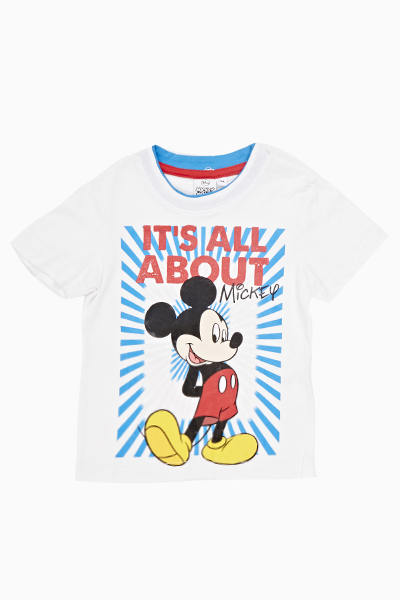 744491d8 White Mickey Mouse T-Shirt - Just £5