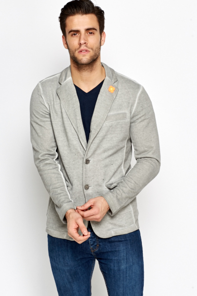Faded Blazer Jacket