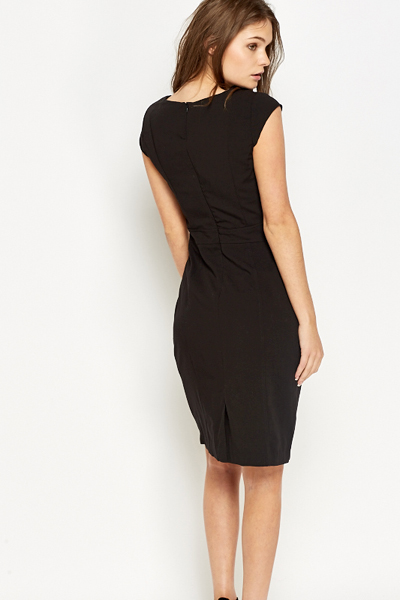 Cap Sleeve Formal Dress