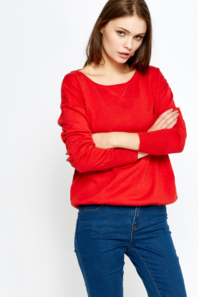 Casual Knit Jumper