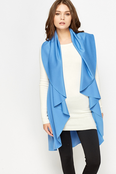 Sleeveless Lightweight Cardigan