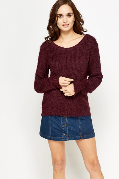 Eyelash Casual Jumper