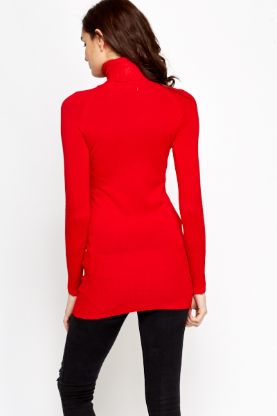 Roll Neck Long Jumper