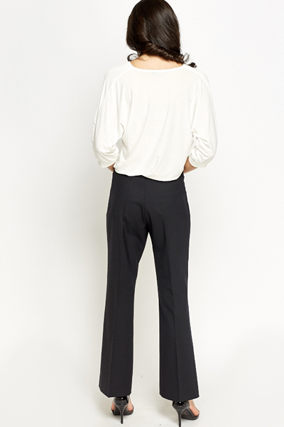 Classic Charcoal Trousers