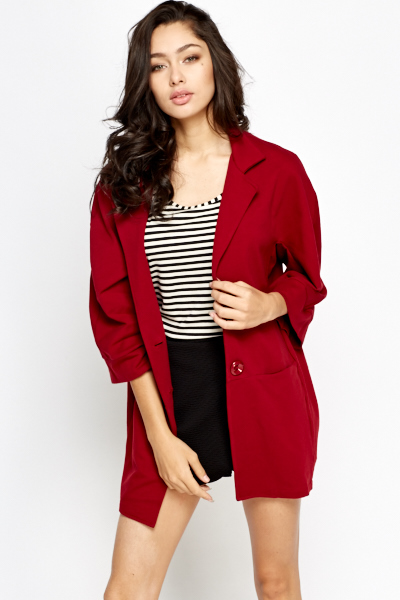 Oversized Blazer Jacket
