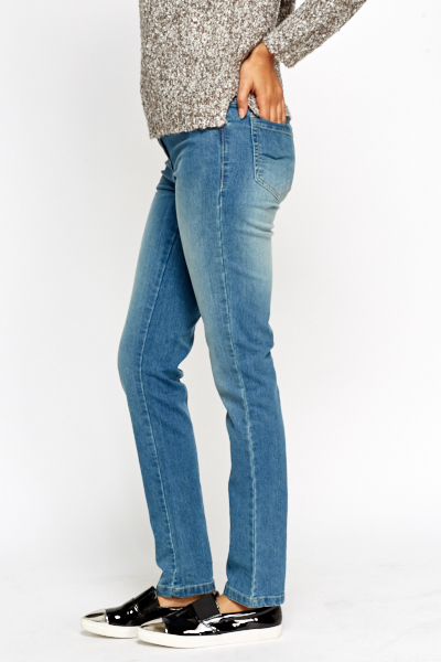 Wash Out Denim Jeans