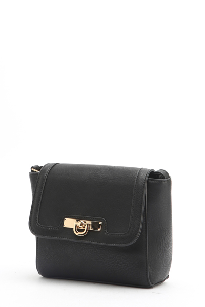 Classic Black Crossbody Bag