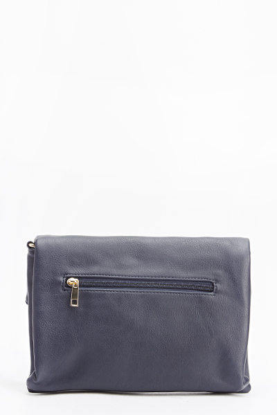 Classic Faux Leather Clutch