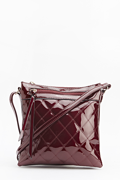 Pu Quilted Shoulder Bag