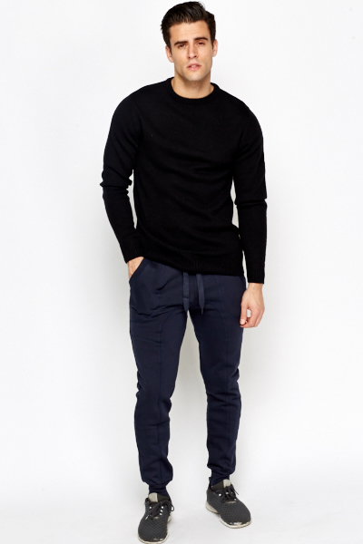 Tapered Cotton Joggers