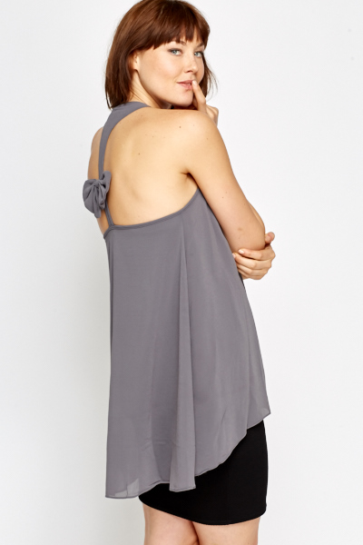 Bow Back Swing Top