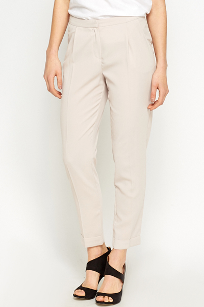 Nude Formal Trousers