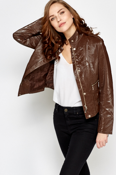 PVC Zip Up Jacket