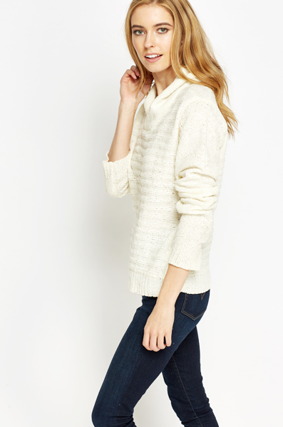 Cowl Neck Soft Jumper