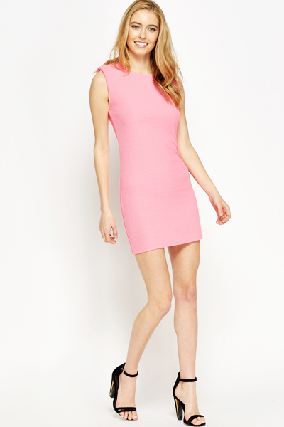 Sleeveless Mini Bodycon Dress