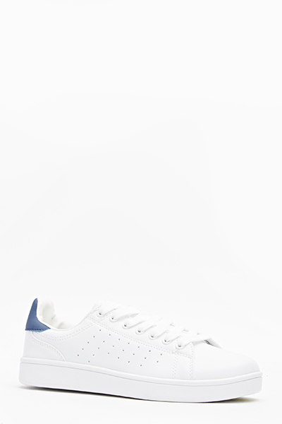 White Casual Trainers