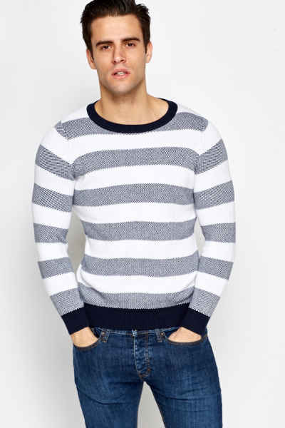 Casual Striped Jumper