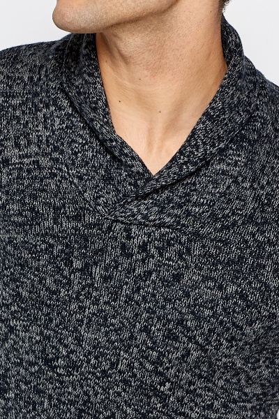 Speckled Contrast Jumper