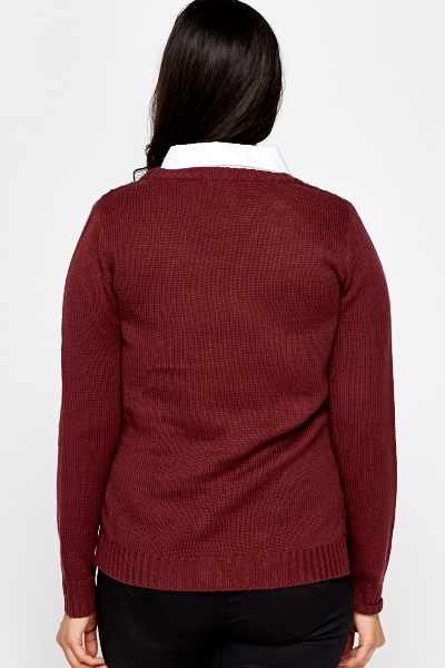 Wine Shirt Insert Jumper