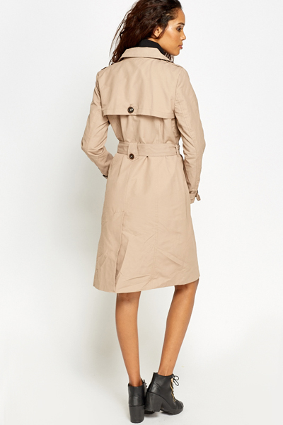 Light Brown Trench Coat