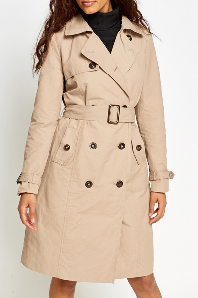 Light Brown Trench Coat - Just £5