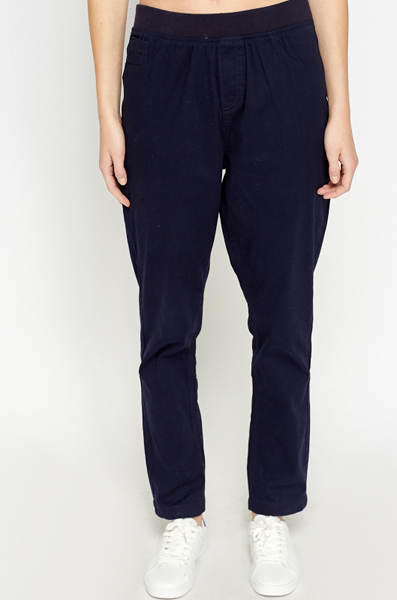 Cotton Blend Straight Fit Joggers