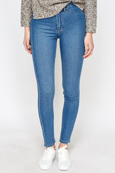 Skinny High Waisted Ankle Jeans
