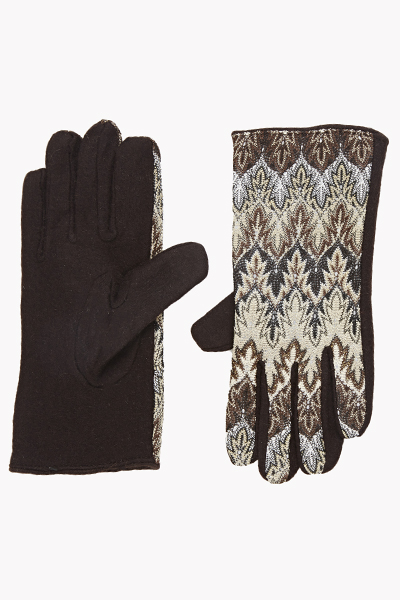 Tapestry Front Gloves