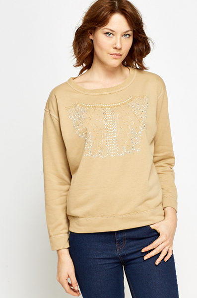 Encrusted Pattern Jumper
