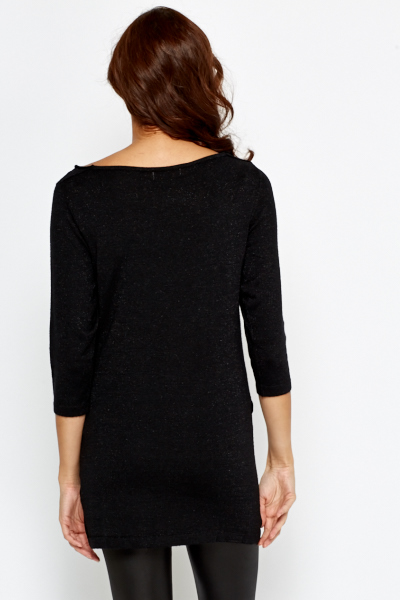 Cowl Neck Jumper Dress
