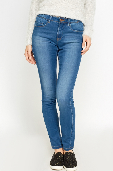 Denim Blue Wash Out Jeans