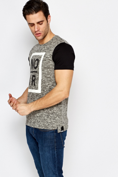 Charcoal Speckled T-Shirt