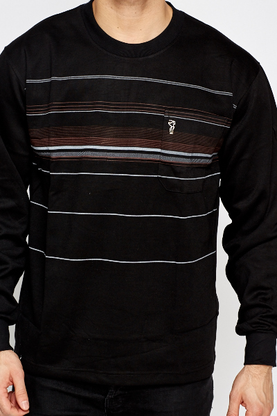 Striped Light Weight Sweater