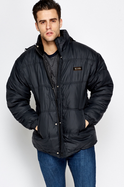 Quilted Mens Coat
