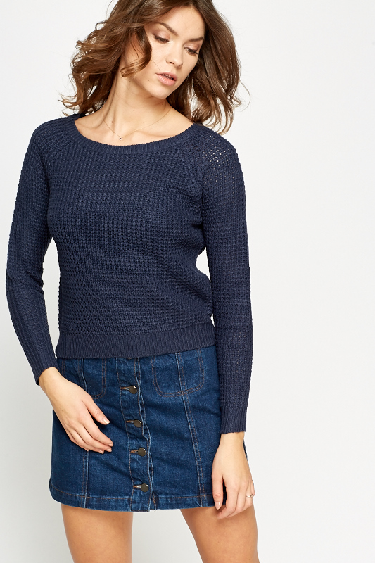 Bow Back Knit Jumper